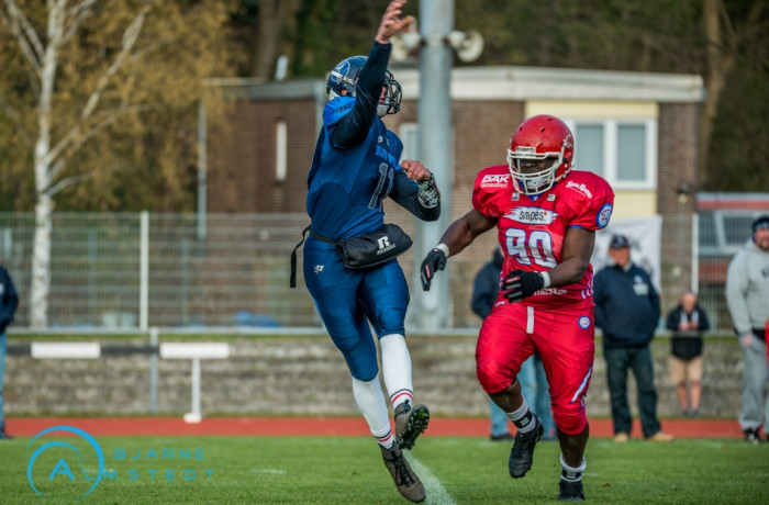 Preseason Game gegen Hamburg Blue Devils