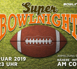 Super-Bowl-Party in der Lübecker Bowling World