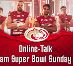 Online-Talk vorm Super Bowl