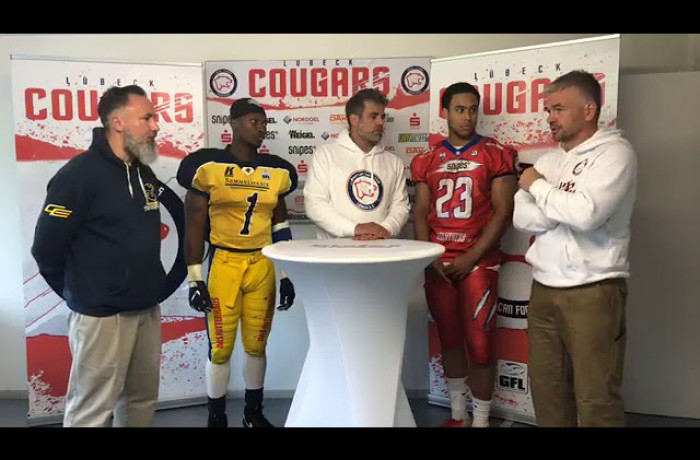 """Gameday Talk"": Lübeck Cougars - Elmshorn Fighting Pirates"