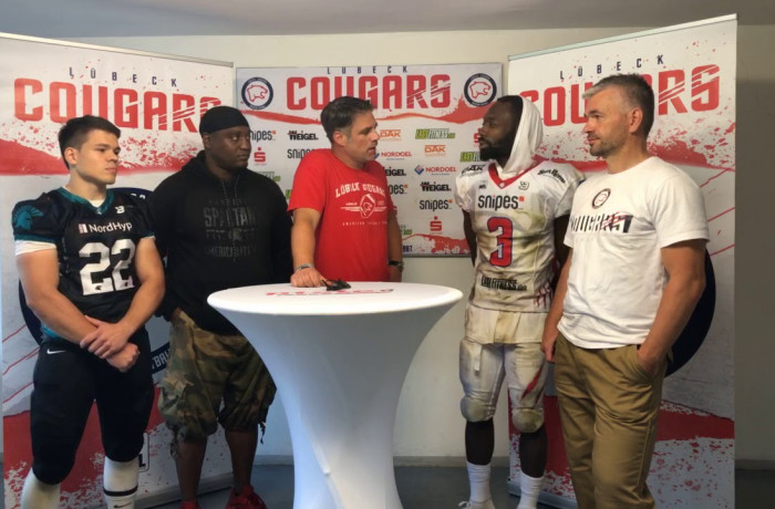 """Gameday Talk"": Lübeck Cougars - Hannover Spartans (13. Juli 2019)"