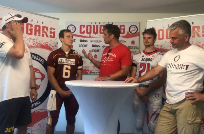 """Gameday Talk"": Lübeck Cougars - Troisdorf Jets (28. Juli 2019)"