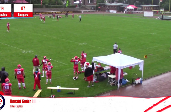 Highlights: Solingen Paladins - Lübeck Cougars (17. August 2019)