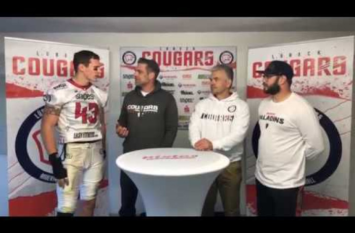 """Gameday Talk"": Lübeck Cougars - Solingen Paladins"