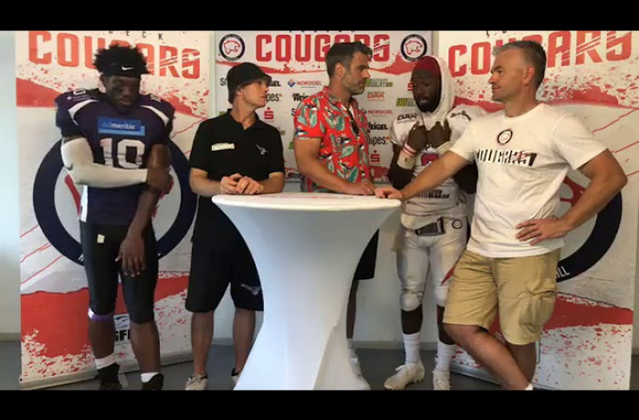 """Gameday Talk"": Lübeck Cougars - Langenfeld Longhorns (25. Juli 2019)"