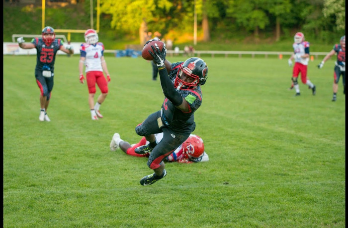 Highlights: Solingen Paladins - Lübeck Cougars (5. Mai 2018)
