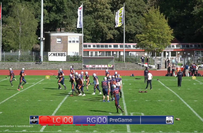 Re-Live: Lübeck Cougars - Rostock Griffins (9. September 2018)